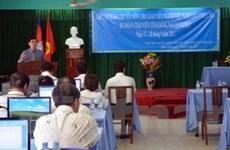 Tập huấn cho giáo viên tiếng Việt tại Campuchia