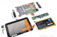 Tablet Kindle Fire HD dễ sửa chữa hơn iPad mới