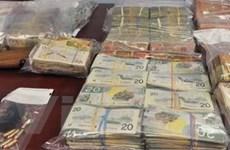 Cảnh sát Canada tóm đường dây buôn ma túy lớn