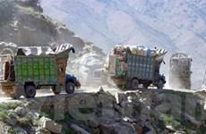 Một đoàn xe quân sự của Afghanistan bị phục kích