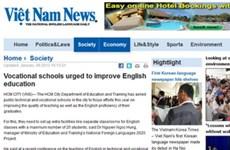 Việt Nam News mở chuyên trang dạy tiếng Anh qua báo