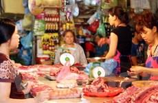 Giá thực phẩm ở Thủ đô Hà Nội có xu hướng ổn định