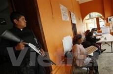 Mexico bầu cử trong tình trạng an ninh thắt chặt