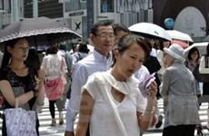 Nước Nhật đối mặt với đợt nóng kéo dài bất thường