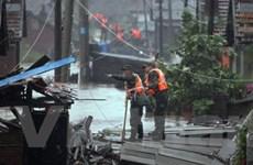 Quảng Tây bị thiệt hại hơn 18 triệu USD do bão Utor