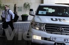 Syria tố cáo phe đối lập tấn công thanh sát viên LHQ