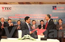 Ký thỏa thuận xây dựng Nhà máy nhiệt điện Vĩnh Tân 3