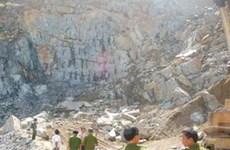 Sập mỏ đá tại Đà Nẵng, 3 người thiệt mạng
