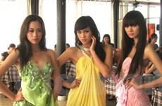"""Ba người đẹp dự thi """"Siêu mẫu châu Á 2009"""""""