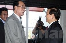 Chủ tịch nước gặp lãnh đạo Triều Triên, Namibia