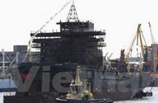 """Tàu phá băng """"St.Peterburg"""" thế hệ mới hoạt động"""