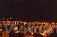 Đại lễ cầu siêu các liệt sỹ ở Nghĩa trang Đường 9