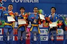 Việt Nam đoạt 5 huy chương vàng Vovinam ở AIG III