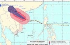 Vùng tâm bão vào các tỉnh từ Hải Phòng-Nghệ An