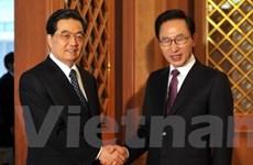 Hàn, Mỹ và Trung Quốc thảo luận hạt nhân Triều Tiên