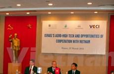 VN-Israel hợp tác phát triển nông nghiệp hiện đại