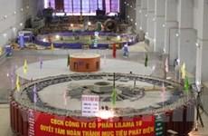 Lắp thành công rotor tổ máy số 3 thủy điện Sơn La