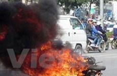 Tập trung tìm nguyên nhân gây ra cháy, nổ xe máy