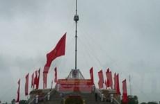 Lễ Thượng cờ thống nhất non sông tại Hiền Lương