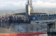 Tàu ngầm hạt nhân của Mỹ tới thăm cảng Philippines