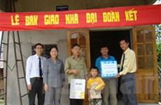DPM bàn giao 100 ngôi nhà Đại đoàn kết ở Kon Tum