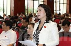 Thảo luận dự án luật phòng, chống thiên tai và KHCN