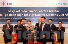 EVN và Siemens ký hợp tác phát triển năng lượng