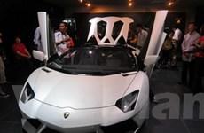 Lamborghini Aventador Roadster ra mắt tại Malaysia