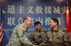Quân đội Trung Quốc-Mỹ tập trận cứu trợ thảm họa