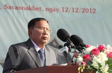 """""""Liên minh chiến đấu Lào-Việt Nam là viên ngọc quý"""""""