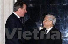 Tổng Bí thư bắt đầu thăm chính thức Vương quốc Anh