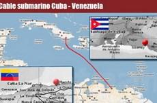 Cuba lần đầu tiên kết nối mạng cáp quang quốc tế