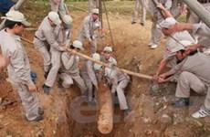 Phát hiện, xử lý nhiều bom còn sót lại tại Quảng Trị