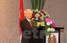 Tổng Bí thư gặp doanh nghiệp hàng đầu Thái Lan