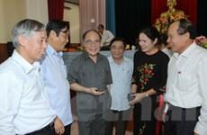 Chủ tịch Quốc hội tiếp xúc cử tri Khu kinh tế Vũng Áng