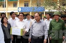 Học sinh Đà Nẵng đi học lại sau ảnh hưởng bão lũ