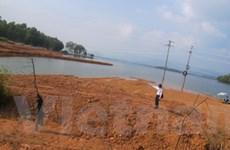 Vĩnh Phúc cảnh báo nạn lấn hồ Đại Lải để làm du lịch
