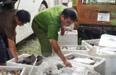 """Phát hiện vụ vận chuyển """"nội tạng bẩn"""" vào Hà Nội"""