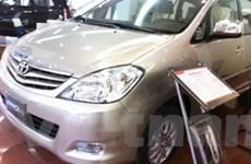 Thị trường ôtô: Bất lợi vì các loại thuế và phí mới