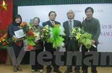 Giải thưởng Hội NVHN 2011: Với nhiều ngỡ ngàng