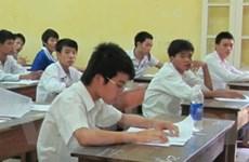 Trong ngày thi đầu có 71 thí sinh vi phạm bị xử lý