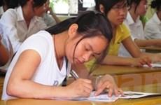 Nam Định dẫn đầu điểm trung bình kỳ thi đại học