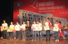 Trường Cao đẳng Đại Việt khai giảng năm học mới