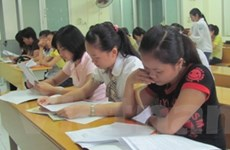 Sáng nay, gần 700.000 thí sinh làm bài thi đại học