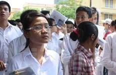 Lượng thí sinh tham dự thi đại học đạt gần 77%