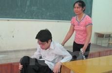30 thí sinh khuyết tật đã được miễn thi đại học