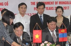 Ký Hiệp định hợp tác giáo dục Việt Nam - Mông Cổ