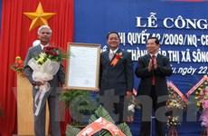 Tỉnh Phú Yên thành lập thị xã Sông Cầu