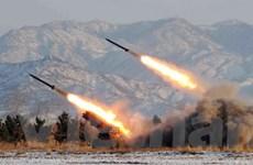 Triều Tiên phóng thêm 2 tên lửa tầm ngắn