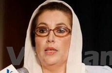 Ủy ban điều tra vụ ám sát bà Bhutto tới Pakistan